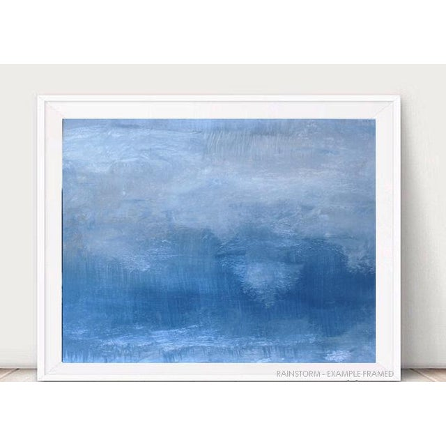 Rainstorm Modern Abstract Original Painting - Image 2 of 3