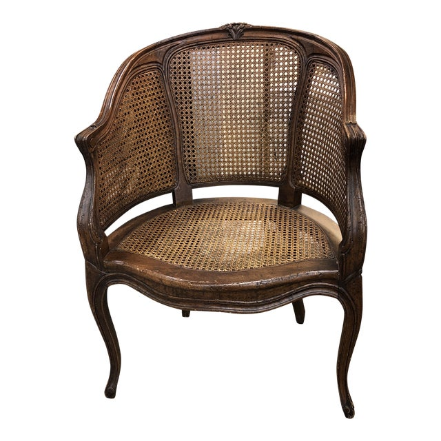 French Canned Chair For Sale