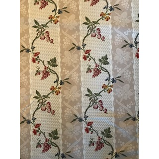 Traditional Brunschwig & Fils Montrachet Linen Beige Fabric - 5 1/2 Yards For Sale