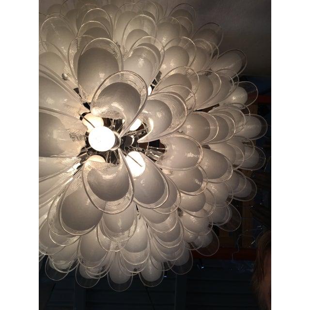 "Mazzega Style Murano Glass ""Selle"" Sputnik Chandelier For Sale - Image 6 of 11"
