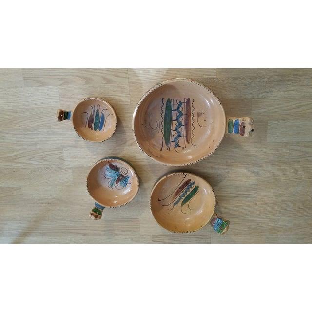 Mexico Tlaquepaque Nesting Chili Bowls - Set of 4 - Image 8 of 8