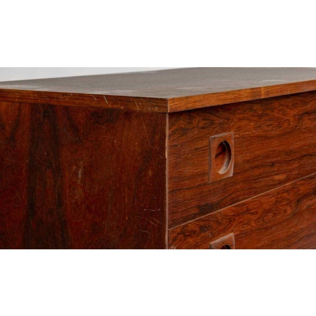 Danish Modern Impressive Danish Modern Rosewood Wall Unit For Sale - Image 3 of 9