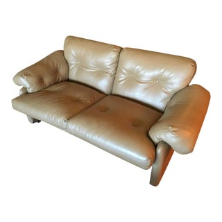 "Scarpa ""Coronado"" Loveseat Sofa"
