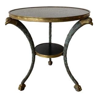 Gueridon Bronze Side Table