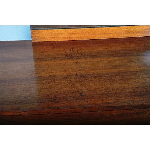 Mid-Century Modern Walnut Vanity Dresser For Sale - Image 12 of 13