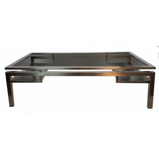 Vintage Guy Lefevre for Maison Jansen French Coffee Table For Sale