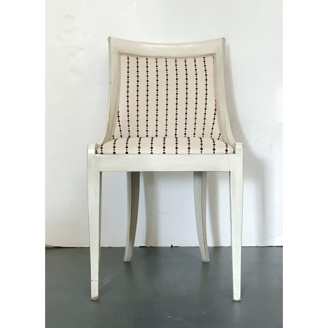 Italian 1980s Vintage Italian Chair For Sale - Image 3 of 10