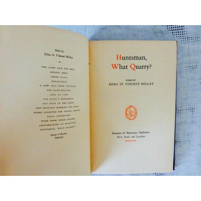 Edna St. Vincent Millay 'Huntsman What Quarry?' 1939 Book - Image 3 of 9