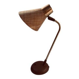 Gerald Thurston Desk Table Lamp for Lightolier, 1950s For Sale