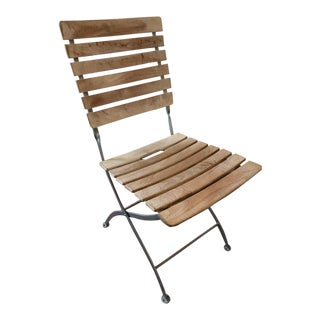 Gloster Teak Folding Chair For Sale