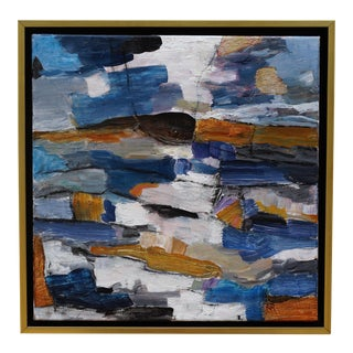 """Laurie MacMillan """"Upward Trend"""" Abstract Landscape Painting For Sale"""