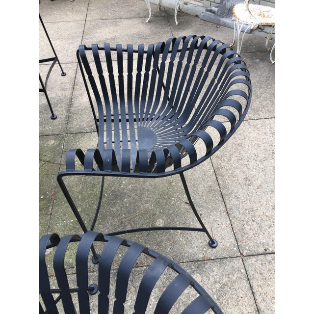 Mid-Century Outdoor Patio Set - Set of 5 For Sale - Image 4 of 9