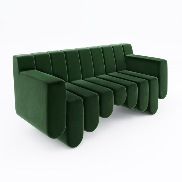 Sound Sofa by Artist Troy Smith - Contemporary Design - Custom Furniture - Limited Edition For Sale In Chicago - Image 6 of 7