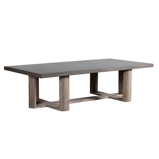 Lando Cement Coffee Table For Sale - Image 4 of 4