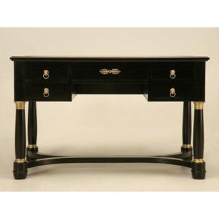 Antique French Ebonized Desk Preview