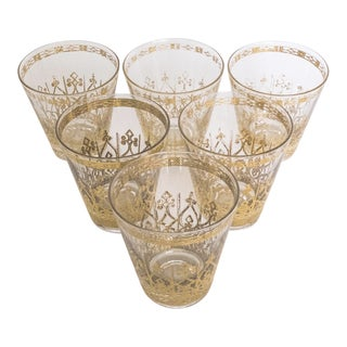 Mid-Century Cocktail Glasses - Set of 6