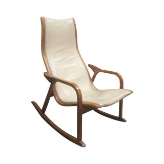 Vintage Swedish Rocking Chair For Sale