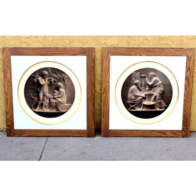 Antique Classical Lithographs - A Pair - Image 2 of 4