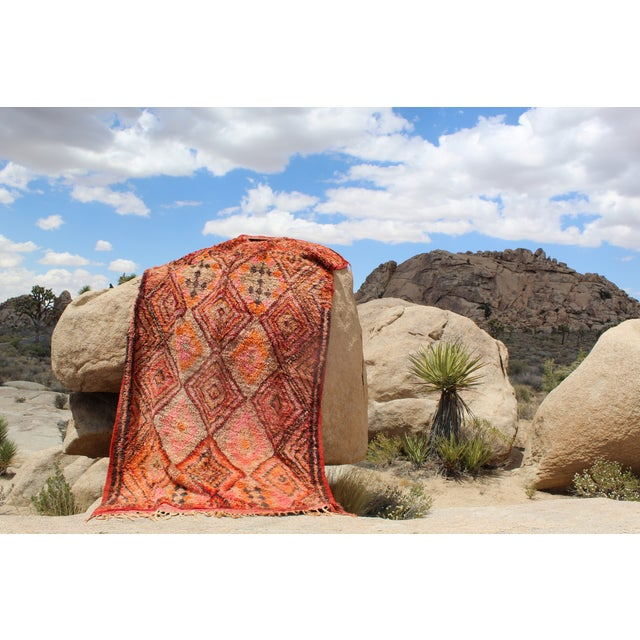 Vintage Moroccan Beni MGuild Rug - 7' x 11' - Image 4 of 8