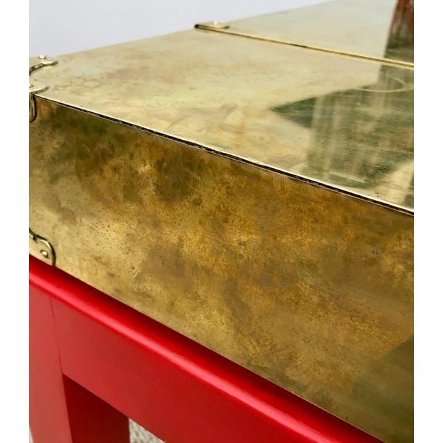Brass Campaign Style Console - Image 8 of 11