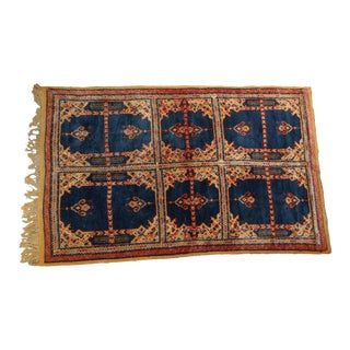 Vintage Moroccan Tribal African Rug For Sale
