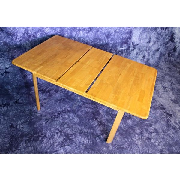 Mid-Century Modern Wooden Dining Kitchen Table For Sale - Image 5 of 10