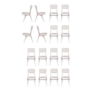 Set of 16 Boone Dining Chairs For Sale