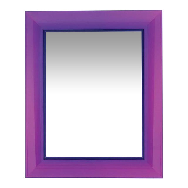 Purple Francois Ghost Mirror by Phillippe Starck for Kartell For Sale