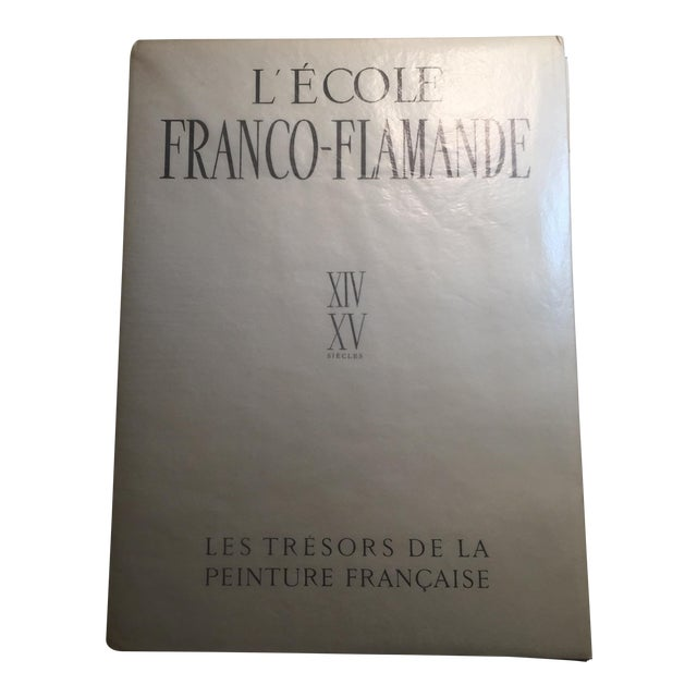 "1947 ""L'Ecole Franco-Flamande"" First Edition Folio by Germain Bazin For Sale"