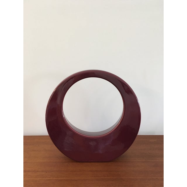 Jaru Geometric Ceramic Modernist Sculpture - Image 3 of 6