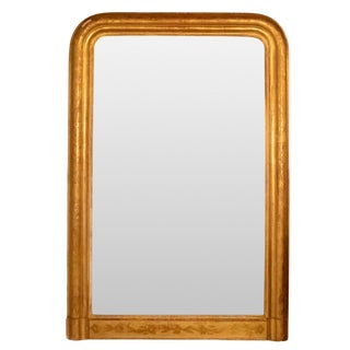19th Century French Country Louis Phillippe Mirror For Sale