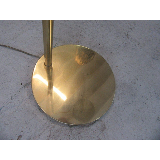 Vintage Modern Brass Floor Lamp - Image 5 of 7