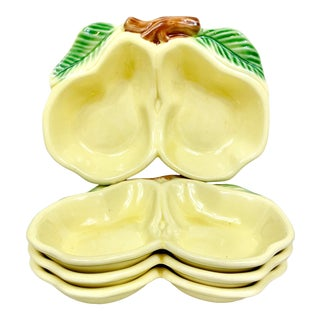 Vintage Pear Serving Dishes-Set of 4 For Sale