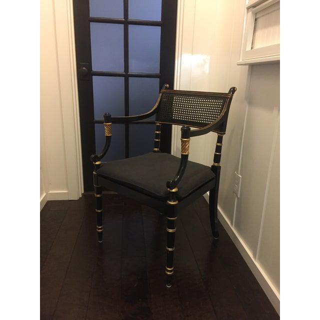 Baker Vintage Regency Style Armchair - Image 2 of 9