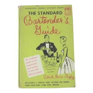 1948 Vintage ''The Standard Bartender's Guide'' Hardback Book by Patrick Gavin Duffy For Sale
