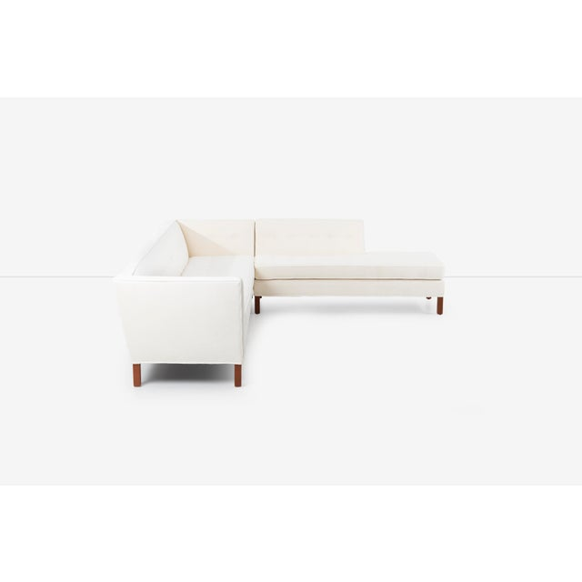Mid-Century Modern Edward Wormley for Dunbar Sectional Sofa For Sale - Image 3 of 13