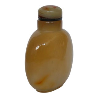 Shadow Agate Floater Snuff Bottle For Sale