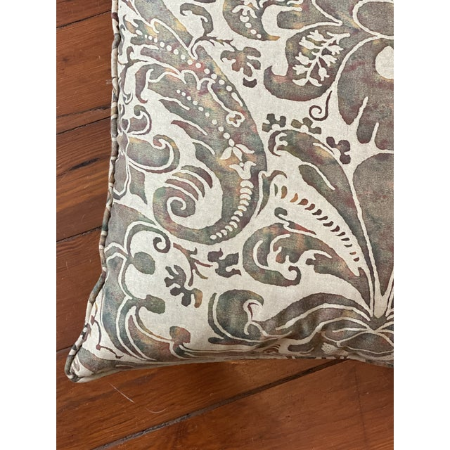 2010s Vintage Fortuny Pillows - a Pair For Sale - Image 5 of 8