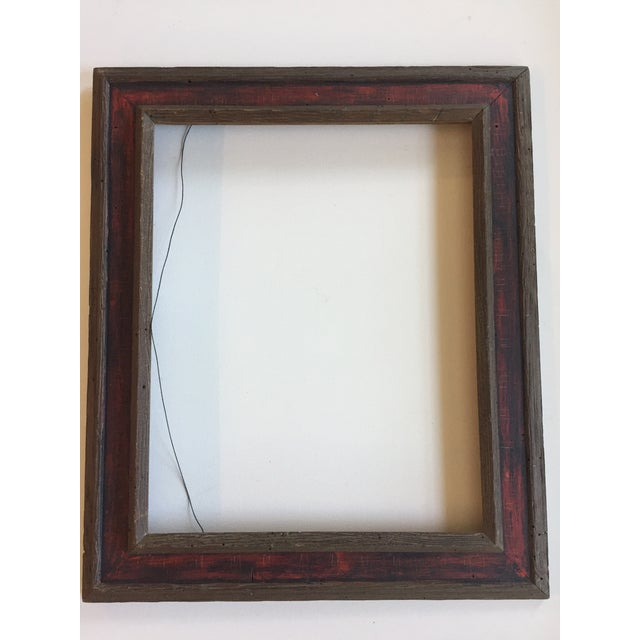 Mid-Century Painted Wormwood Frame - Image 2 of 7