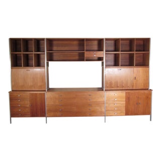 Paul McCobb for H Sacks and Son Modular Wall Unit For Sale