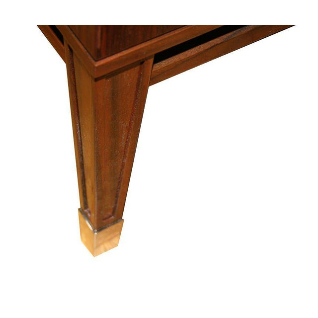 Ryan Parchment Door Rosewood Console For Sale - Image 10 of 10