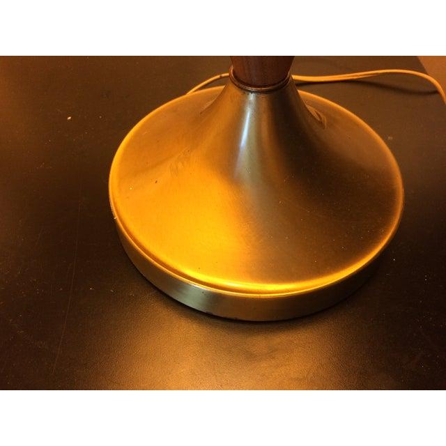 Mid-Century Walnut Table Lamp - Image 5 of 6