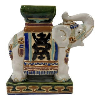 Petite Elephant Display Stand For Sale