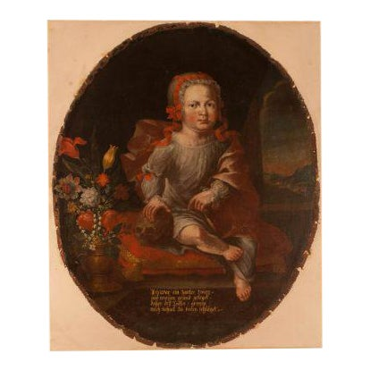 Memorial Portrait of an Child For Sale