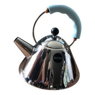 Michael Graves for Alessi Tea Rex 30th Anniversary Tea Kettle For Sale