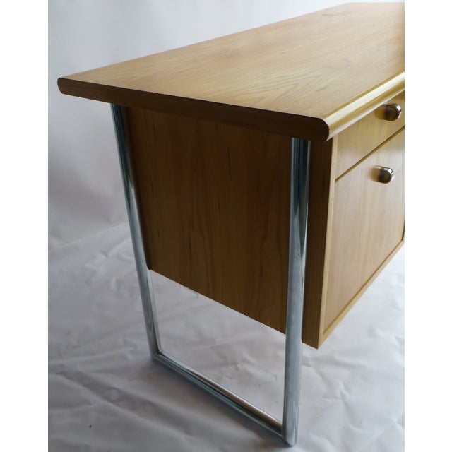 Jack Cartwright Mid-Century Birch Founders Desk - Image 8 of 9