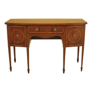 Kittinger D1923 Inlaid Federal Mahogany Sideboard For Sale