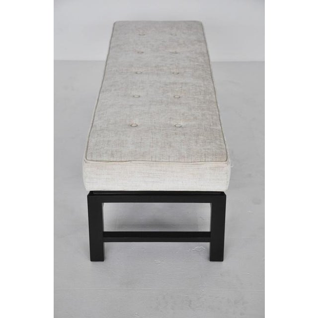 Dunbar Bench by Edward Wormley For Sale In Chicago - Image 6 of 10