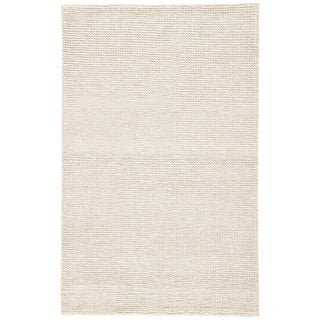 Jaipur Living Braiden Handmade Cream Area Rug - 2′ × 3′ For Sale