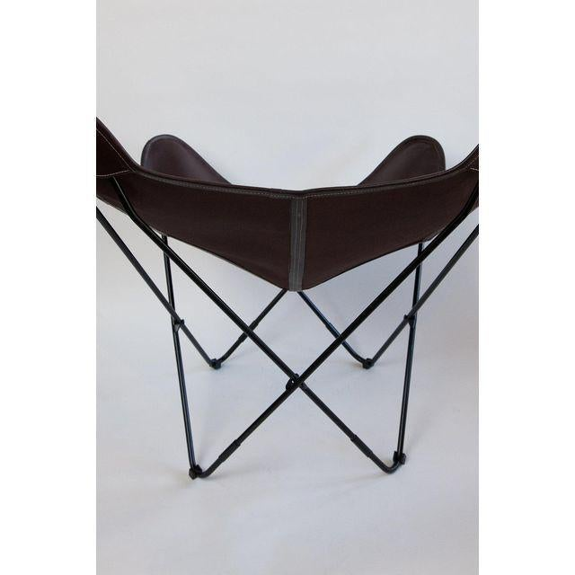 Early 21st Century Argentine Import BKF Original Design Butterfly Chair For Sale - Image 5 of 7